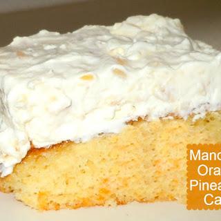 Mandarin Orange Pineapple Cake.