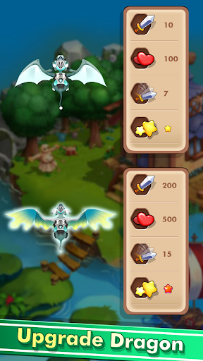 Nâng cấp rồng trong Dragon Shooter Monster mod