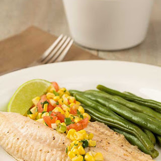 Broiled Catfish with Fresh Corn and Tomato Salsa