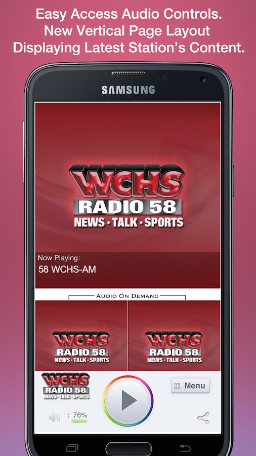 58 WCHS-AM - screenshot