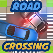 Road crossing: traffic mayhem