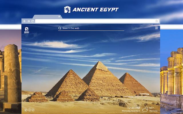 Ancient Egypt New Tab