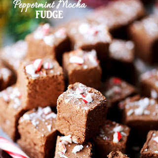 Peppermint Mocha Fudge Recipe
