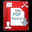 E2PDF - Backup Restore SMS,Call,Contact,TrueCaller icon