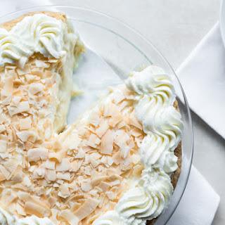 Boozy Coconut Cream Pie