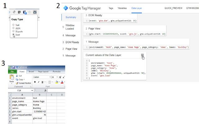 GTM Preview Copy Tool