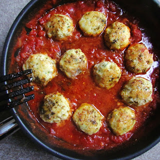 Za'atar Spiced Cod Patties In Tomato Sauce
