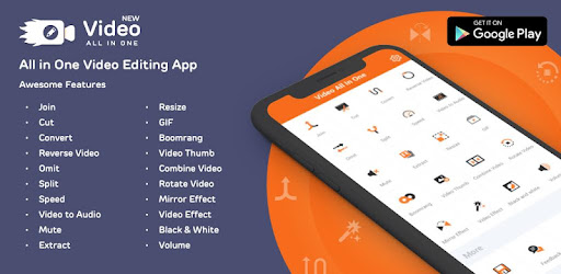 Video All in one Editor-Join, Cut, Watermark, Omit - by