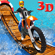 Wipeout Bike Stunts 3D