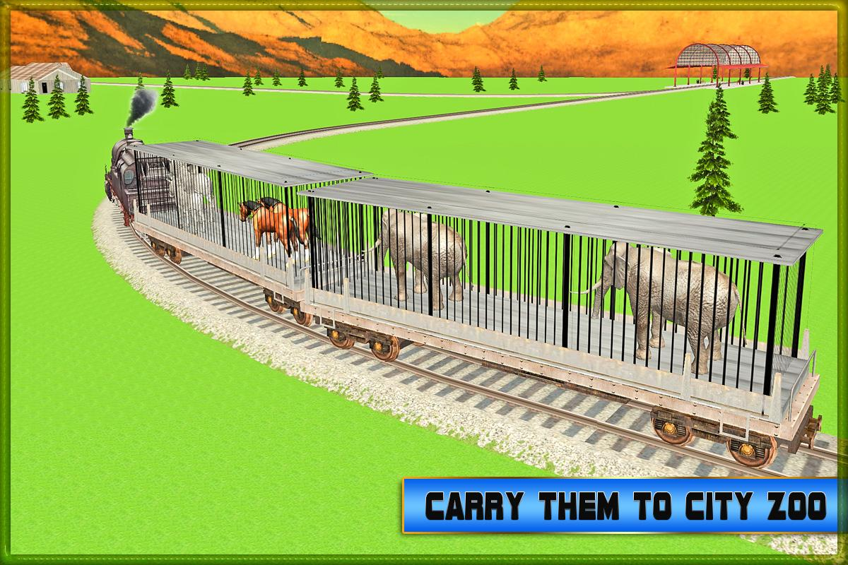 Transport Train: Zoo Animals- screenshot