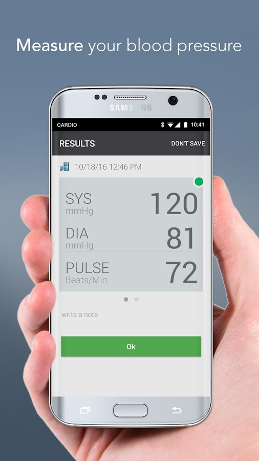 Qardio Heart Health- screenshot