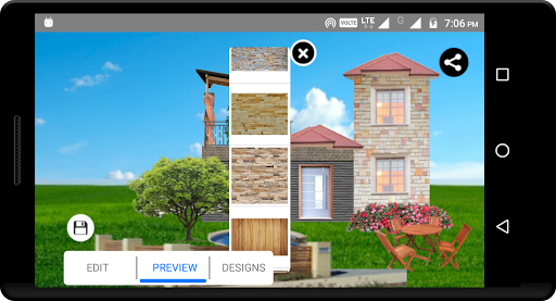 create home - exterior design and color selection screenshot 2
