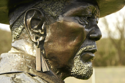 King Moshoeshoe I is one of an array of historical figures depicted at Pretoria's National Heritage Monument.