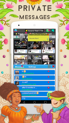 Chat Rooms - Find Friends screenshot
