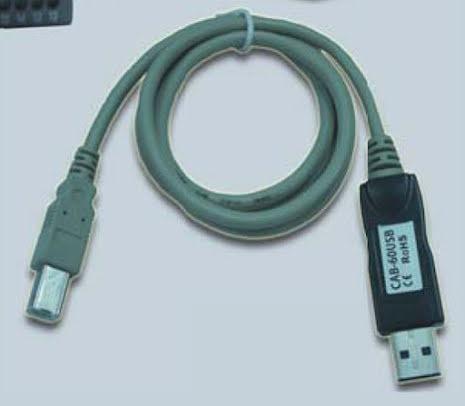 Kabel USB för A2- och A6 -seriens PLC