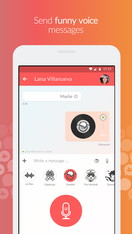 Jongla - Social Messenger- screenshot