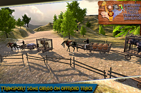 Impossible Tracks 3d Simulator : Animal Transport - náhled