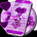 Keyboard Purple icon