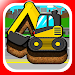 Kids Car, Vehicles Puzzle Game icon