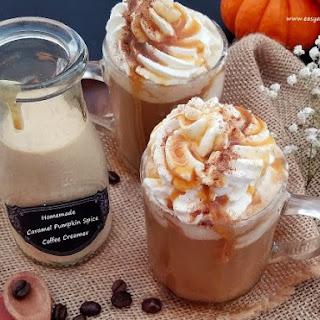 Homemade Caramel Pumpkin Spice Coffee Creamer Recipe