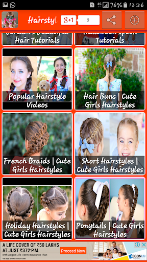 Download Latest Hairstyle Video Tutorial Google Play Softwares