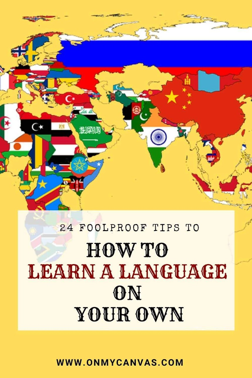 I learned #Spanish within a few weeks while traveling in #Chile because I had to think in Spanish. The trick to learn a language by your own is to find a #nativespeaker of the target #language(my guide tells how). Then follow the rest of my 24 best tips on how to learn a language by yourself. Teach yourself a #newlanguage. Learning a foreign language | how to learn a language fast | best way to learn a new language | how to learn a language on your own #personalgrowth #foreignlanguage
