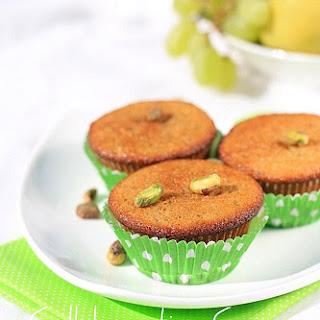 Pistachio-Date Muffins