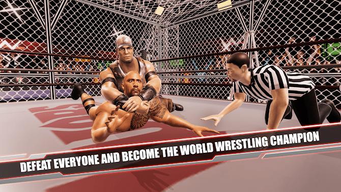 Cage Revolution Wrestling World : Wrestling Game Android 9