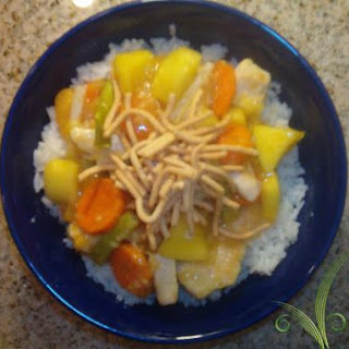 Fruited Sweet & Sour Chicken