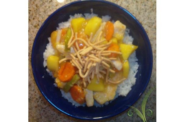Fruited Sweet & Sour Chicken Recipe
