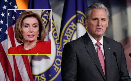 Outraged Democrats demand Kevin McCarthy resign over joke he made about Nancy Pelosi: 'What a piece of s***'