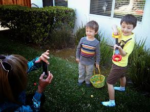 Photo: Clark and Finn Easter Photoshoot