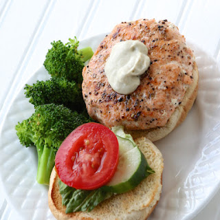 Grilled Salmon Burgers with a Twist