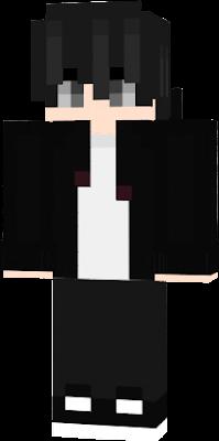 black hair boy | Nova Skin
