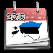 Estonia Calendar 2019