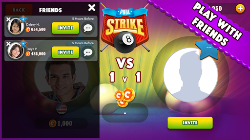 Pool Strike Online 8 ball pool billiards with Chat screenshot 6