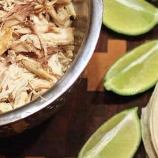 Slow Cooker Cilantro-Lime Chicken Tacos.