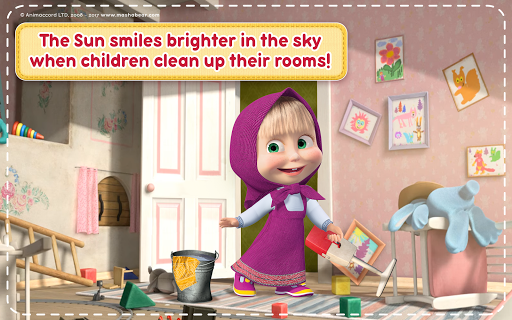 Masha and the Bear: House Cleaning Games for Girls  screenshots 11