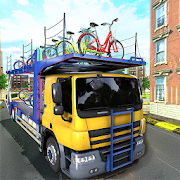 Bicycle Cargo Transport Truck Driver Simulator
