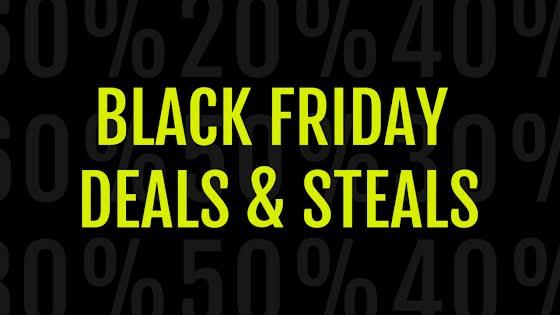 Deals & Steals - YouTube Thumbnail Template