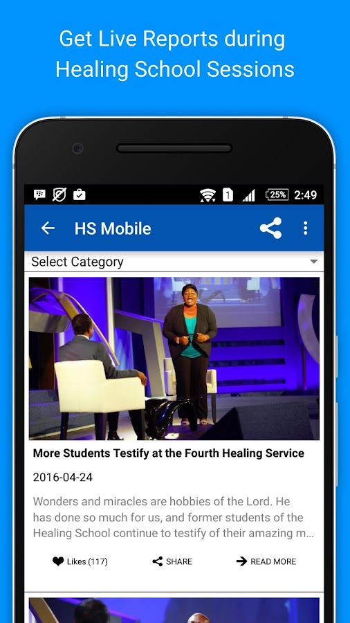 Healing School Mobile- screenshot