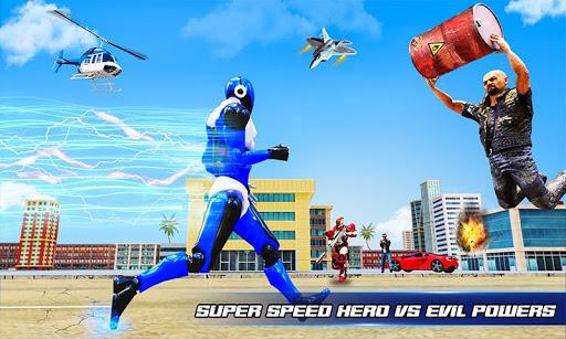Grand Police Robot Speed Hero City Cop Robot Games 4.0.0 screenshots 2