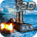 Sea War: Warship Battle 3D icon