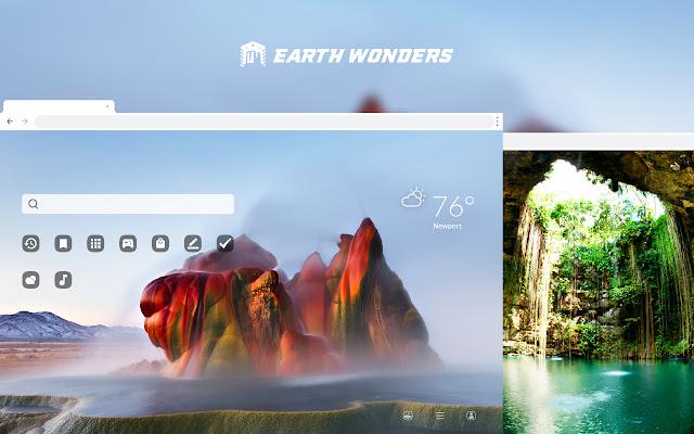 Earth Wonders HD Wallpapers New Tab Theme