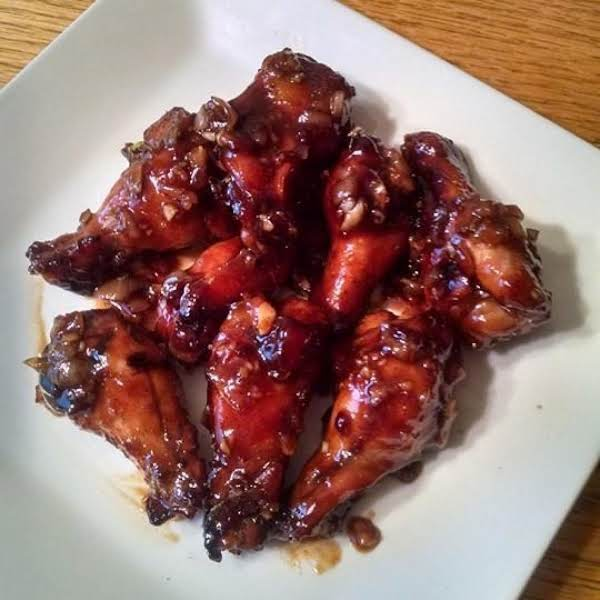 Chipotle Garlic Chicken Wings