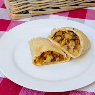 Vegan Portobello Mushroom Empanadas.