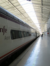 Photo: A train station located in Córdoba. Trains are a very fast, efficient way to travel almost anywhere in Spain.
