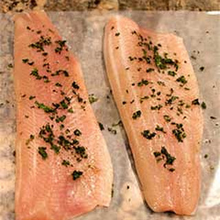 Seared Rainbow Trout Fillets