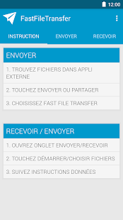 FastFileTransfer Capture d'écran