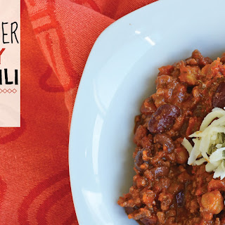 Slow Cooker Hearty Beef Chili {gluten free}